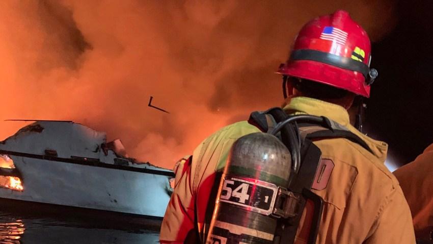 Boat Fire Ventura County 9-2-19 2