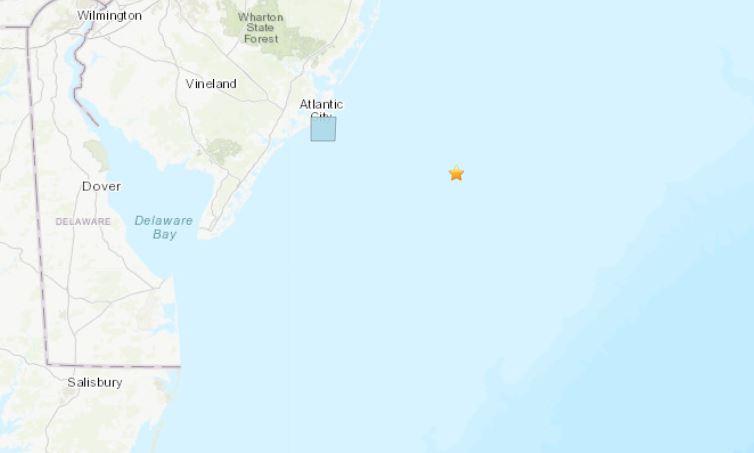 Brigantine New JErsey Earthquake
