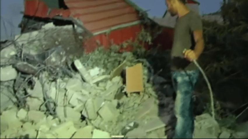 Building Demolished in Jenin