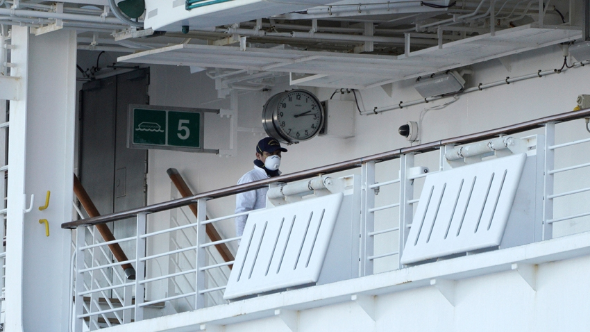 Diamond Princess cruise passengers quarantined