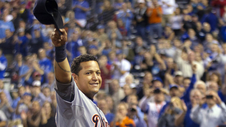 APTOPIX Cabrera Triple Crown Baseball