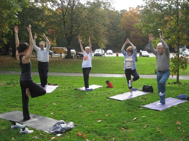 CityParks Seniors Fitness - Yoga at Cunningham Park