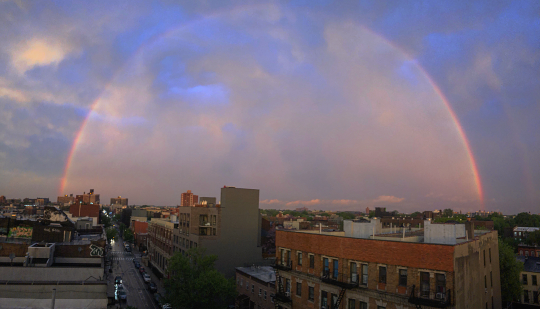Stunning Rainbow Sunset After The Storm U2013 NBC New York