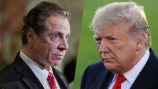Cuomo-Trump-Split