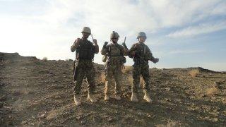 Max Rose deployed in Afghanistan