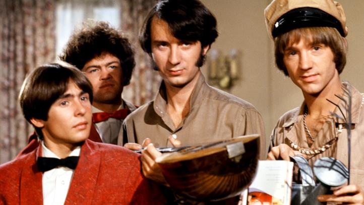 Monkees on set