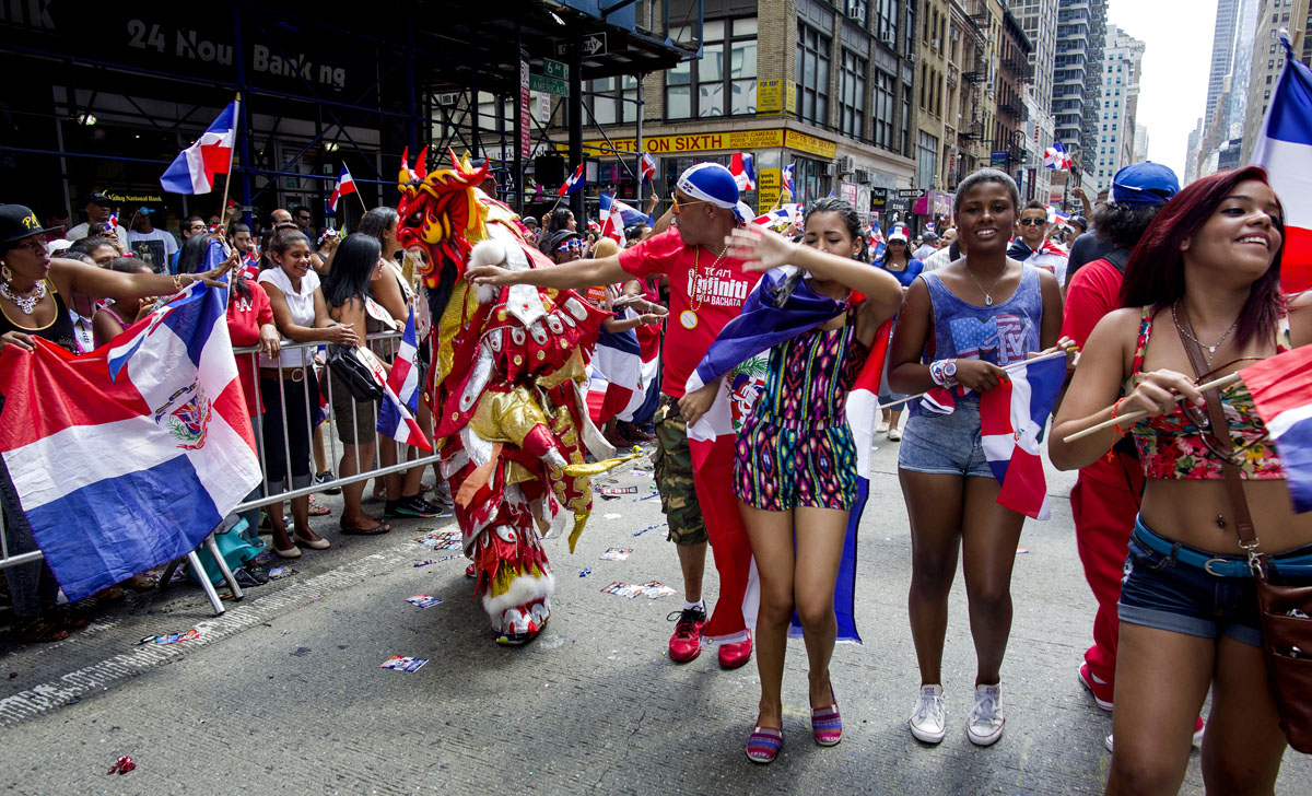 what day is the dominican parade 2012