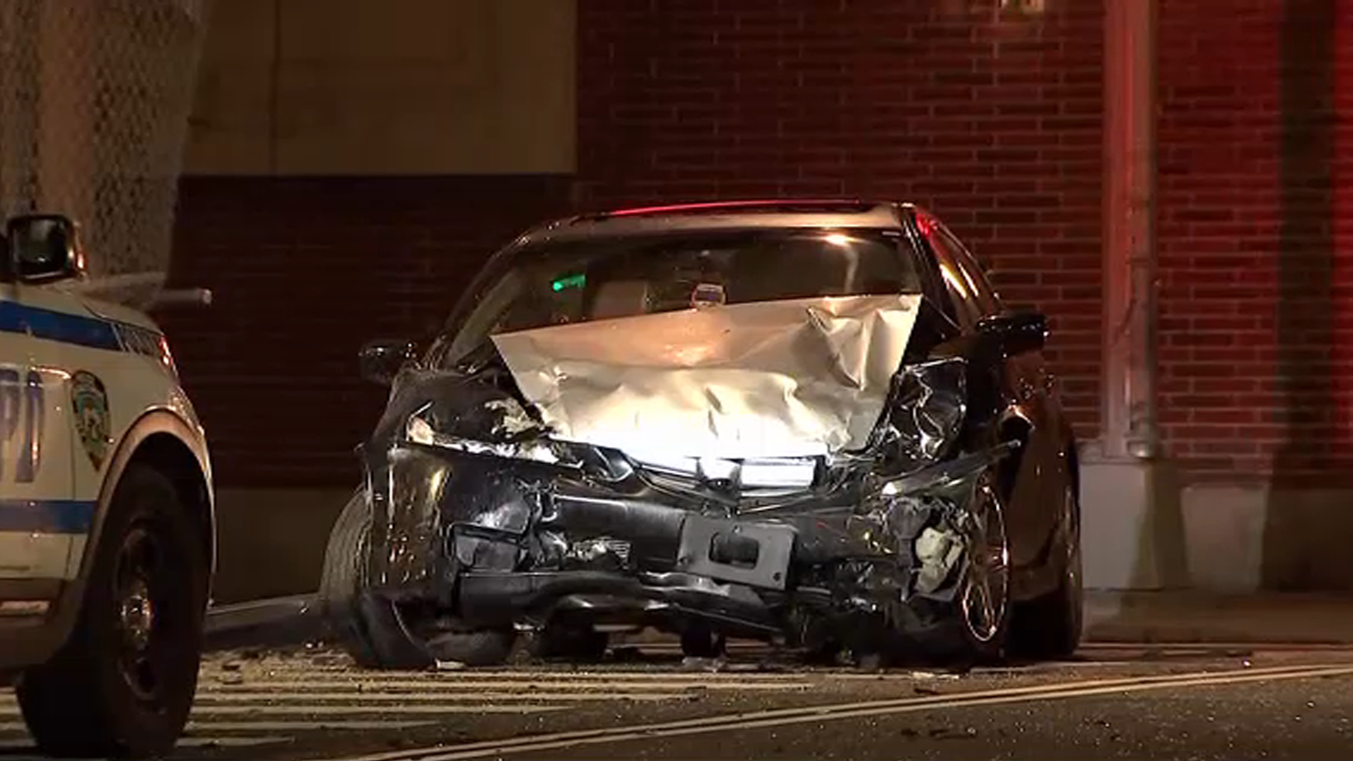 Livery Cab Passenger Critically Hurt in Hit-and-Run: NYPD