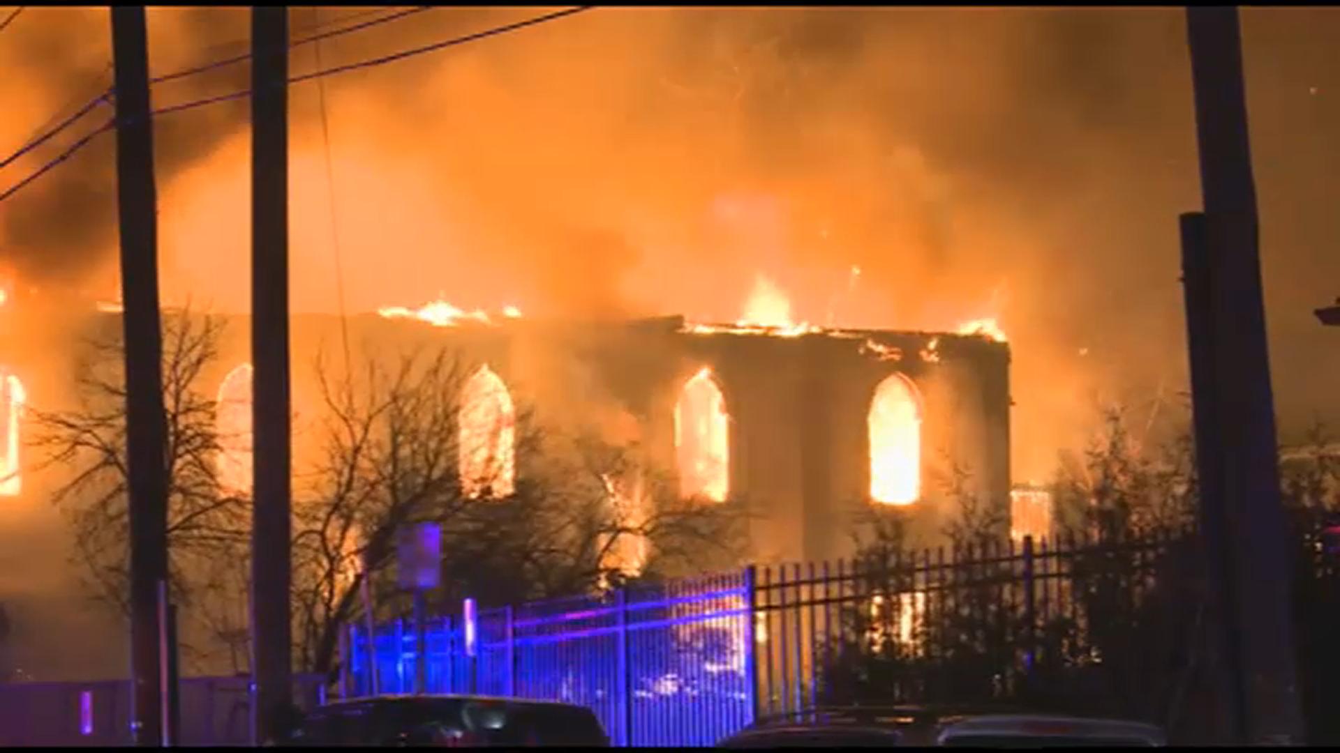 Congregants Vow to Rebuild After Fire Destroys Historic NJ Church