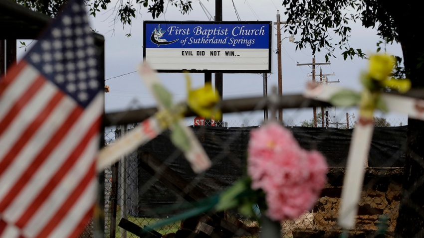 Church Shooting Texas