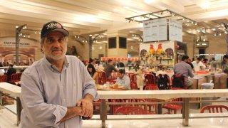 Joe Germanotta at his Grand Central restaurant
