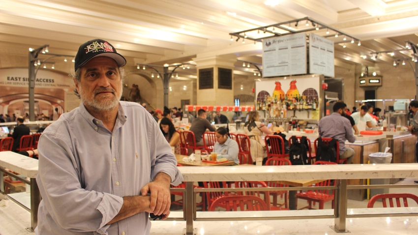 Joe Germanotta at his Grand Central restaurant