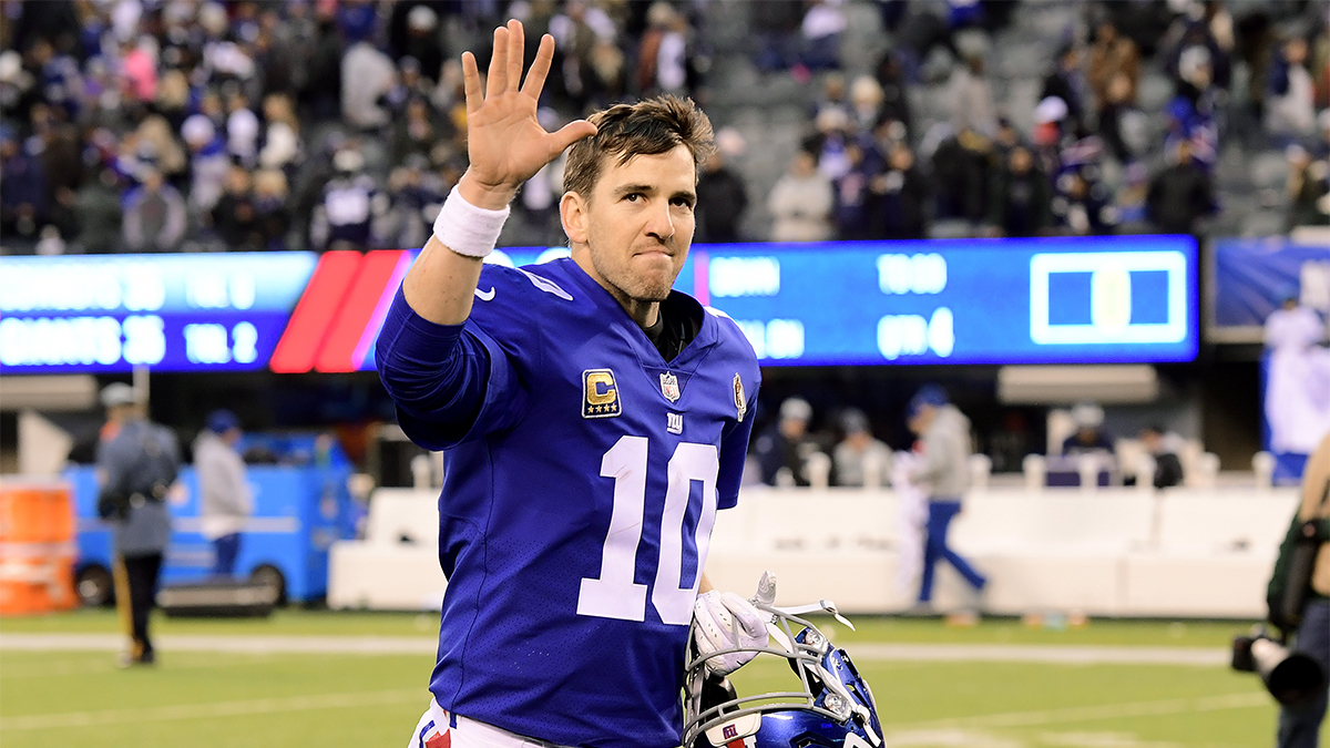 'Giant Among Giants': Eli Manning Holds Press Conference on Retirement