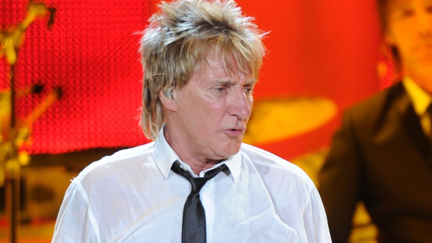 Rod Stewart performs at Philips Arena