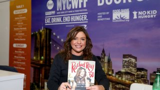Rachael Ray is taping her show from home and her organizations are donating $4 million to several charities including food banks and animal rescue efforts.