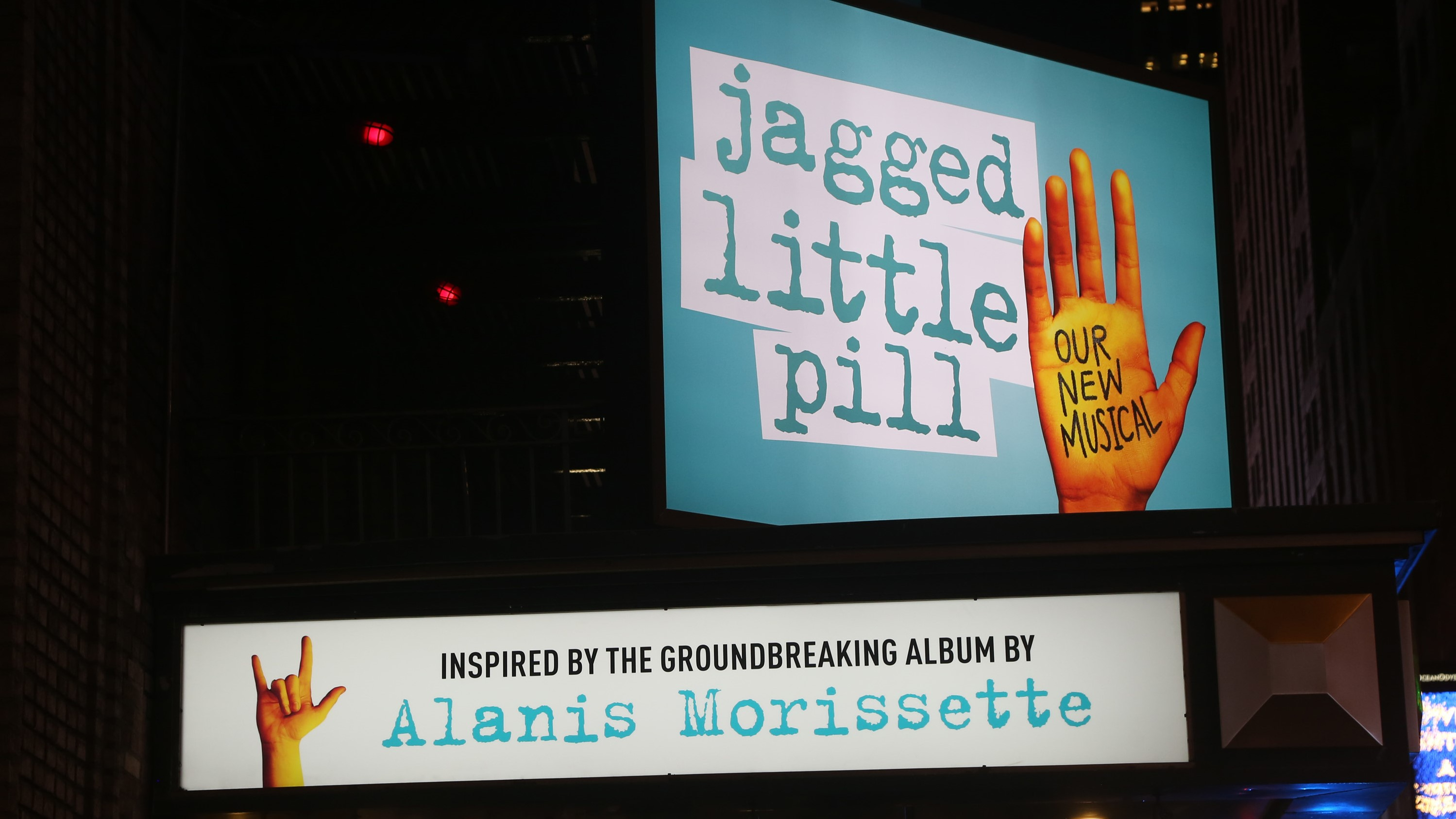 Jagged Little Pill Musical Evacuated for Reported Pepper Spray Incident