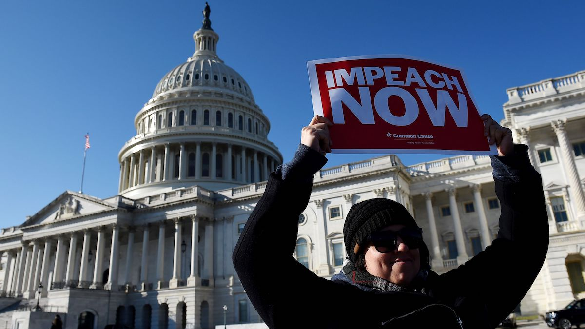 House Vote Locks in Impeachment as Issue in '20 Hill Races