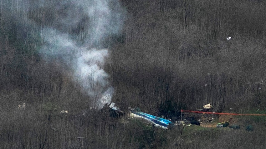 Kobe Bryant Killed In Helicopter Crash In Calabasas Hills