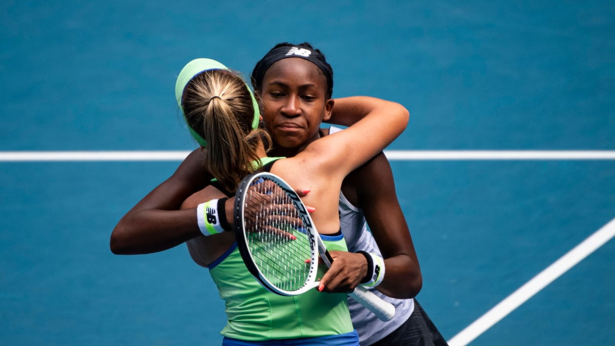 Didn T Do It For The Hype Sofia Kenin Stops Coco Gauff In Australia Nbc New York