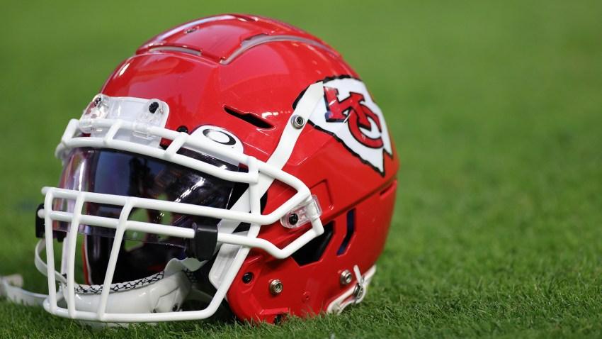 NFL helmets