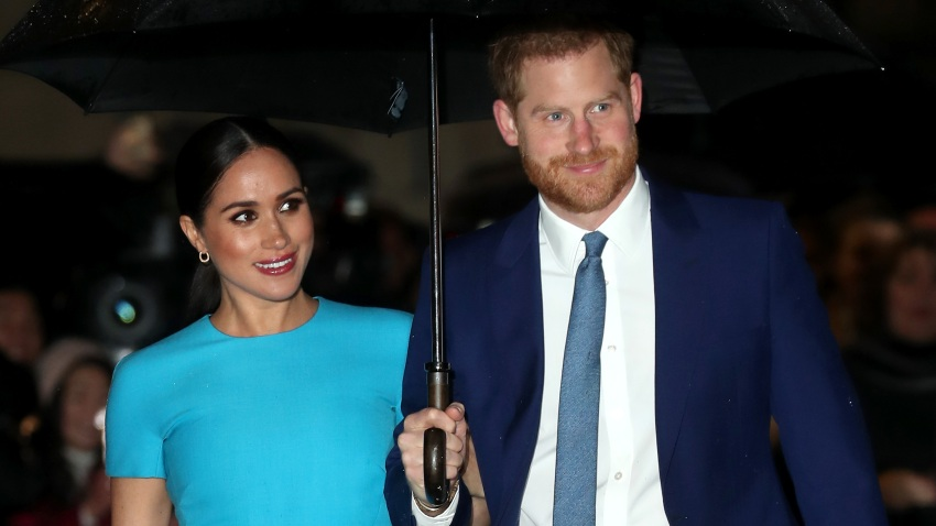 In this file photo, Meghan, Duchess of Sussex, and Prince Harry, Duke of Sussex, attend The Endeavour Fund Awards at Mansion House on March 05, 2020 in London, England.
