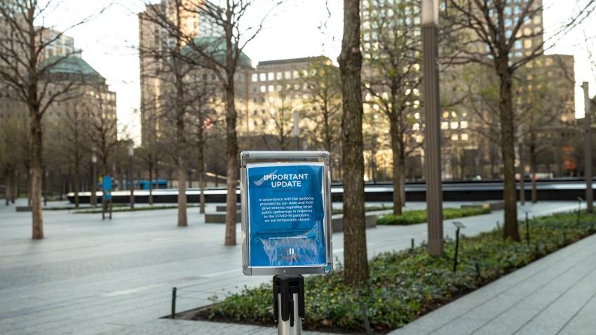 9/11 Memorial Closed