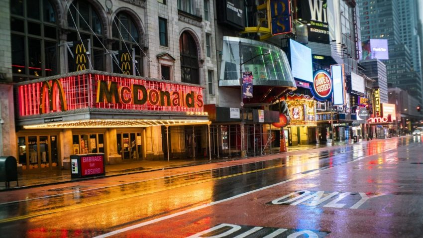 Iconic Nyc Mcdonald S In Times Square Closes For Good Nbc New York