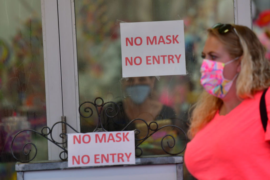 New Jersey Extends Face Mask Mandate to Outdoors