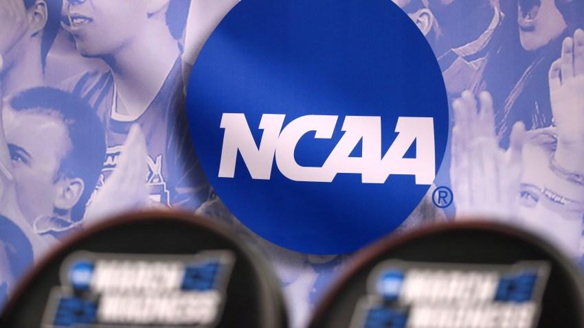 File photo showing NCAA logo