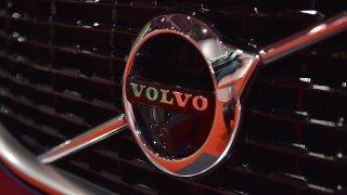 A Volvo logo