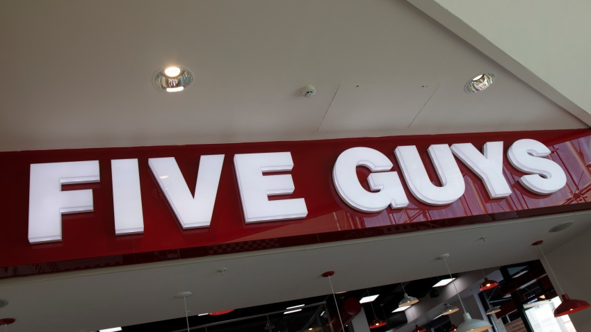 Five Guys sign