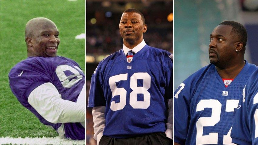 Former NY Giants Split Screen