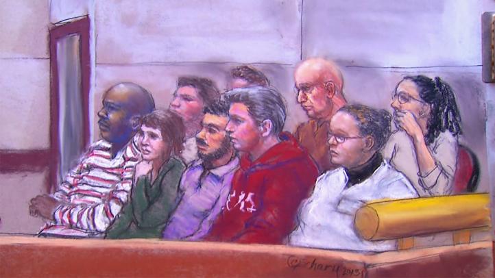 Gosnell Jury sketch