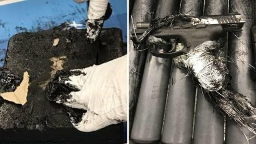Gun Found in Tar JFK Airport Arrest