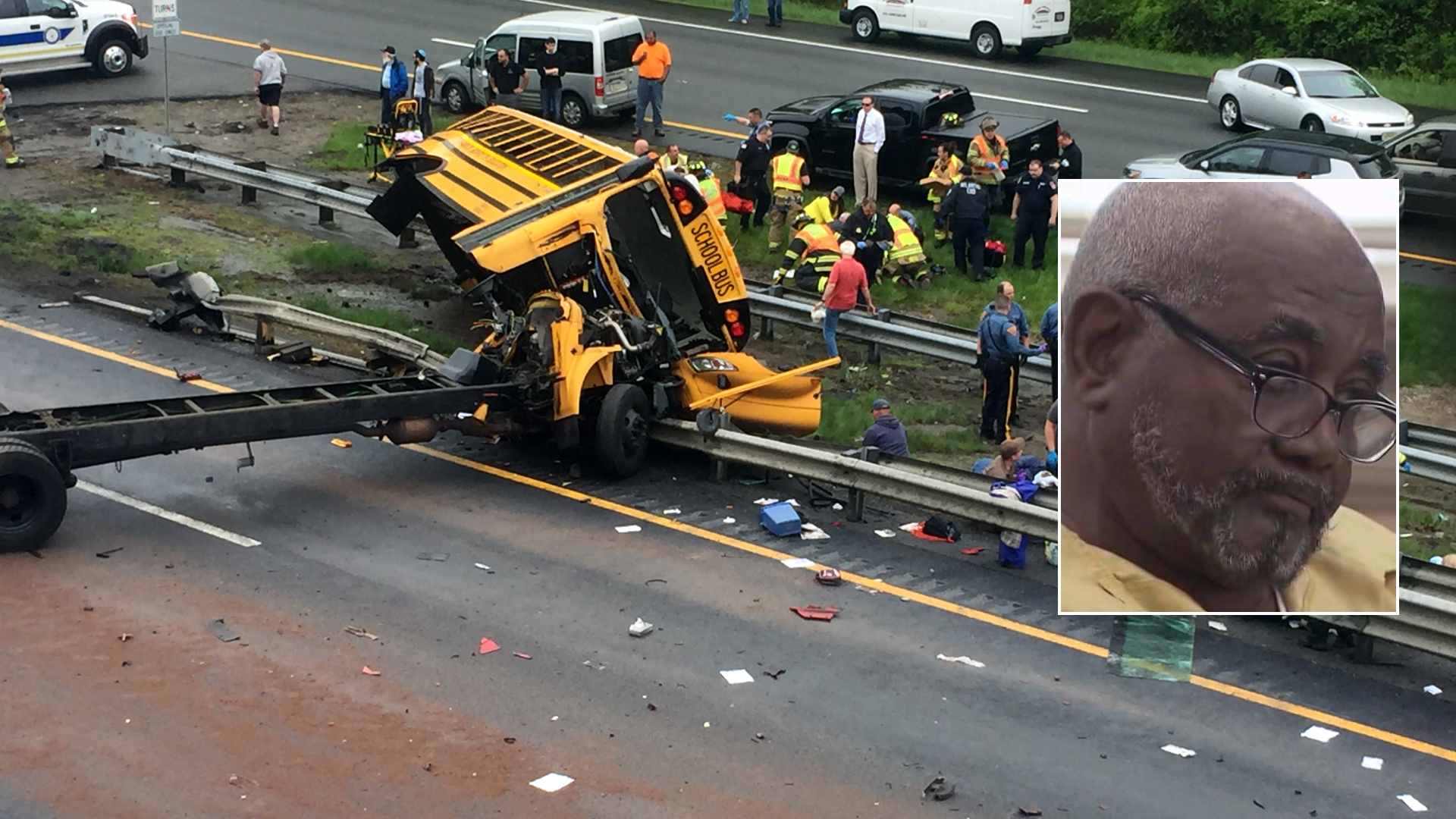 Driver in New Jersey School Bus Crash That Killed Student, Teacher to Be Sentenced