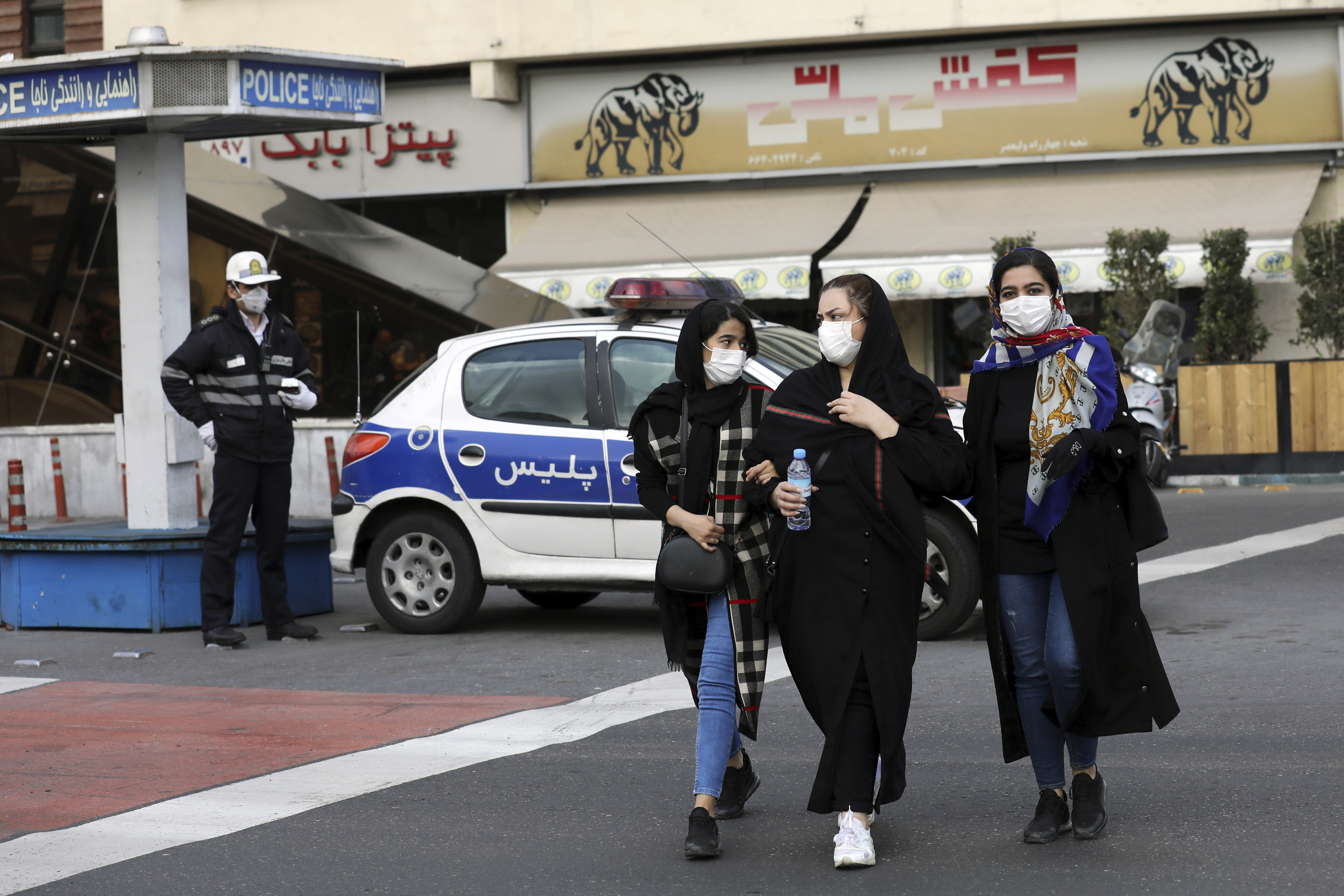 UAE Bans Iran Flights Over Virus; at Least 15 Dead in Iran