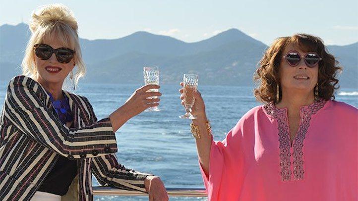 Jennifer Saunders Joanna Lumley Absolutely Fabulous Movie