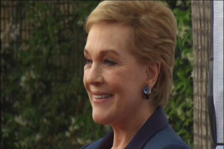 Julie Andrews Honored