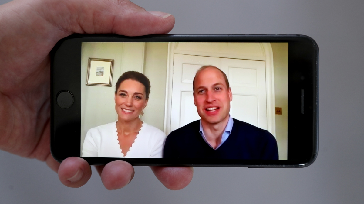 Prince William and Kate Middleton compete in virtual ... |Prince William And Kate House
