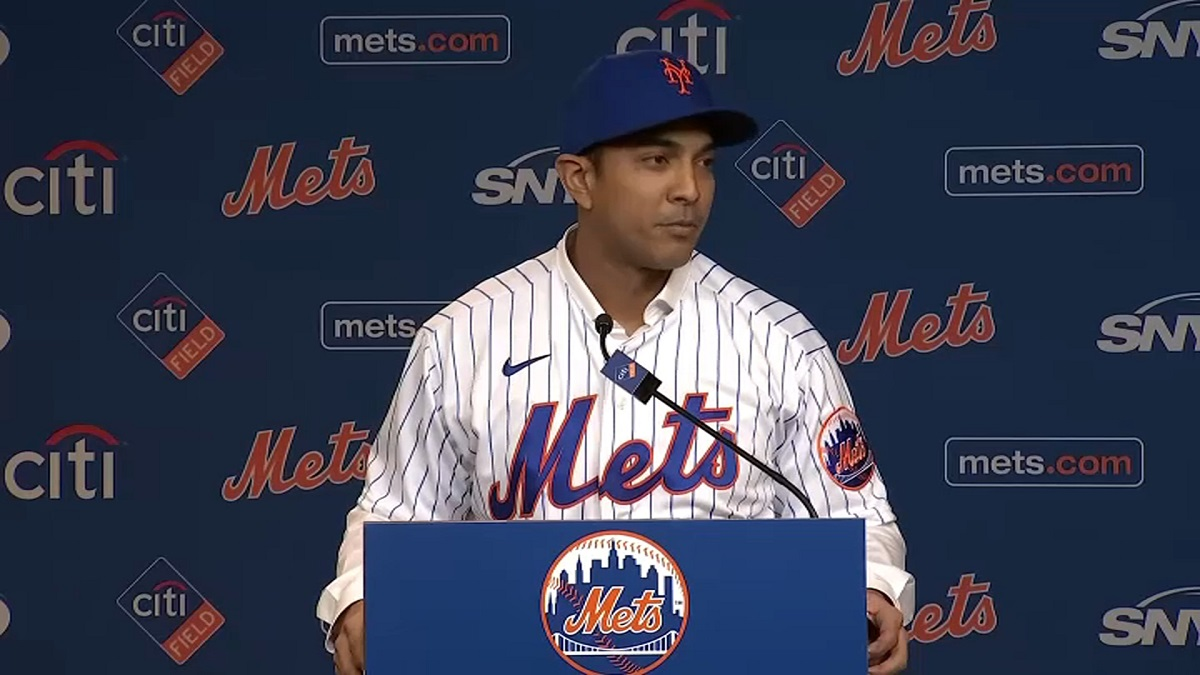 New Mets Manager Luis Rojas Thanks Famous Father, Brother