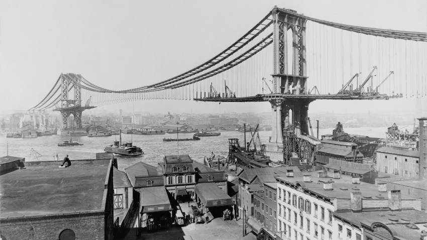 Manhattan_Bridge_Construction_1909_Edit
