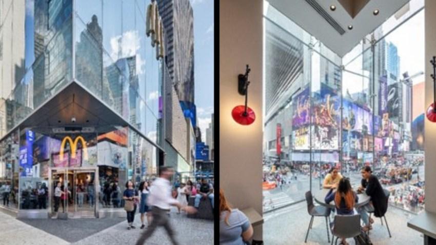 McDonald's Time Square Photos