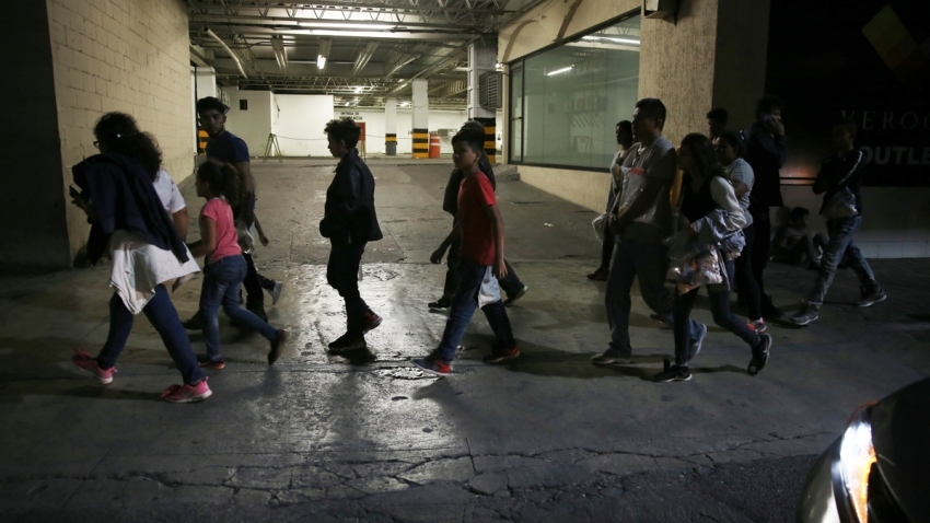 Mexico Immigration Bused From the Border