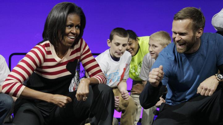 Michelle Obama Fitness