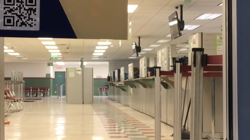 Inside a New Jersey MVC office