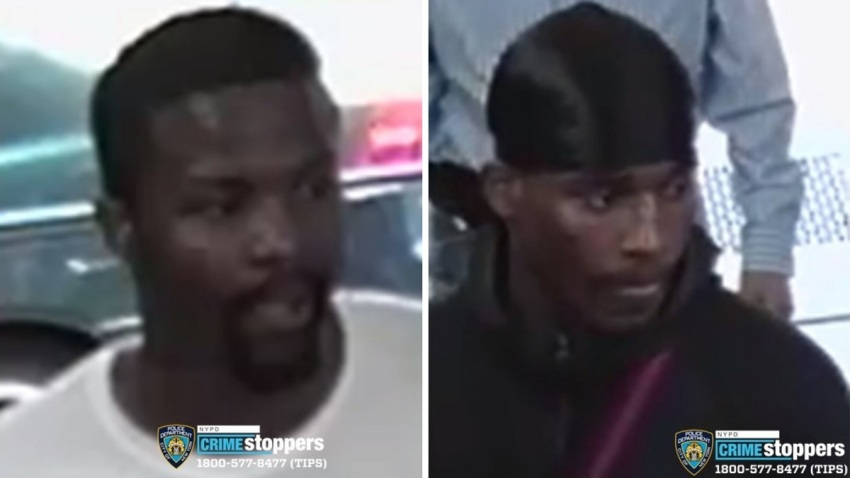 NYPD Bronx Elevator beating robbery suspects
