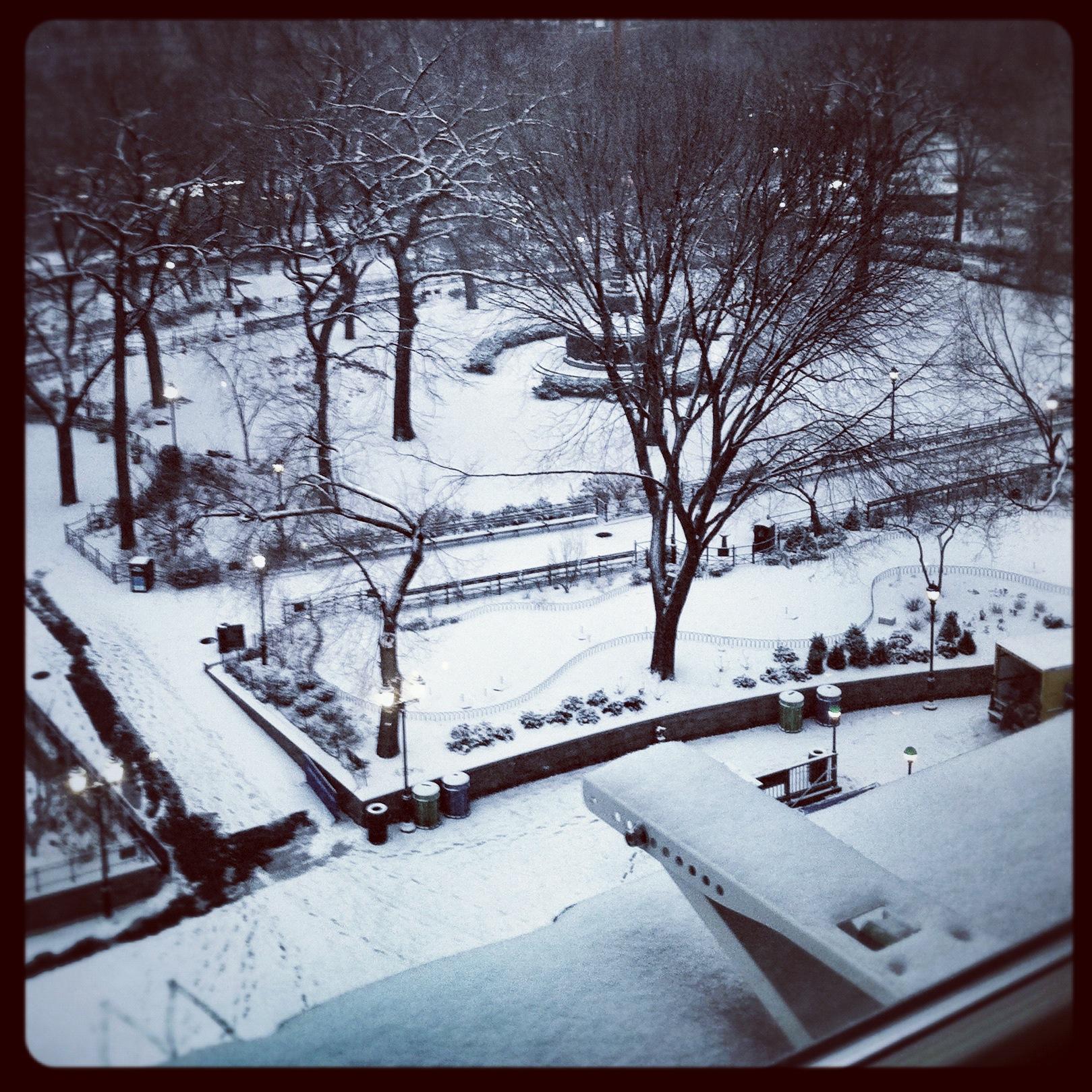 2012 Snow In Photos
