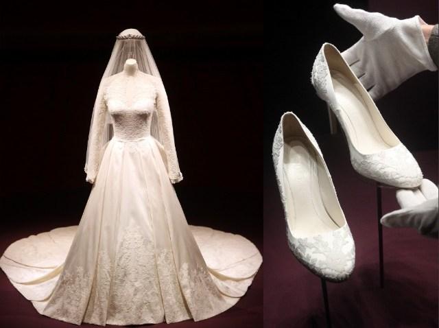 Royal Wedding Dress Exhibition at Buckingham