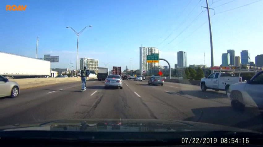 SCOOTER ON I35