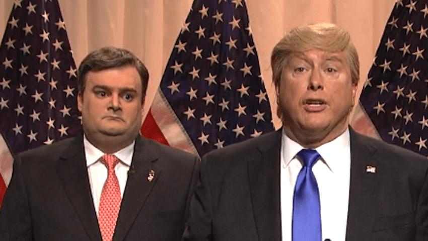 'SNL' Donald Trump Chris Christie